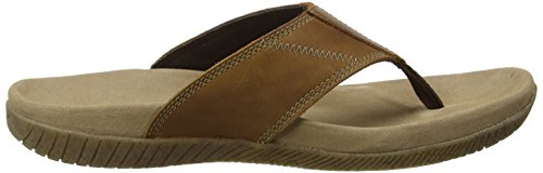 Hush Puppies Herren Mutt Toepost Sandalen Braun (Light Brown)