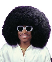 dolly2u WIG SUPER FRO BLACK (Kids Super Fro Wig)