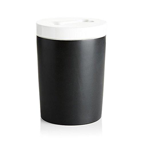 Magisso Happy Pet Project Naturally Cooling Ceramics Treat Jar (Black, 1.5 L) by Magisso