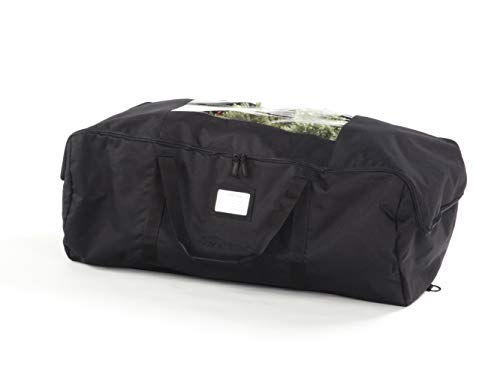 15h Storage - Covermates - Medium Holiday Storage Duffel Bag- Holds up to 5 Foot Tree - 3 Year Warranty - Black