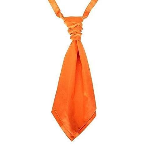 L/&L/® Kids Boy Children Satin Wedding Ruche Cravat Tie Party Event
