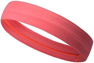 スポーツヘアバンド、スポーツヨガヘッドバンド、ユニセックスメンズスウェットバンドアウトドアスポーツメンズ&レディーススウェットバンド (Color : Red)