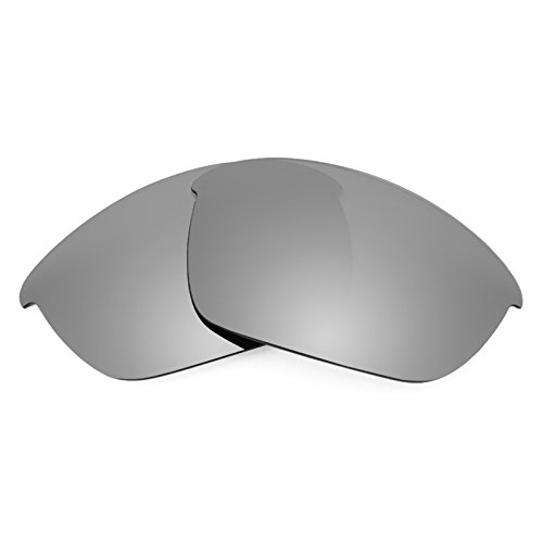 Revant Polarized Replacement Lenses for Oakley Half Jacket 2.0 Titanium MirrorShield