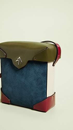 Bag Box Pavone Beige Fuchsia Pristine Atelier Women's MANU Khaki Mini Hw4xBqU1