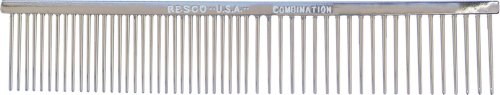Resco American-Made Combination Comb for all Dogs and Cats,