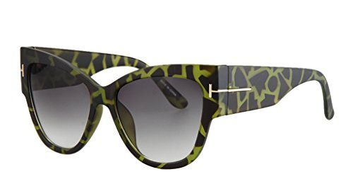 Personality Cateye Sunglasses Trendy Big Frame - Get Polarized Should Bans Ray I