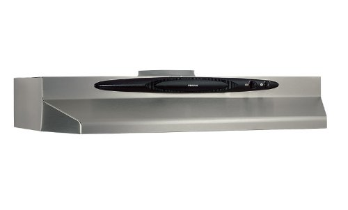 Broan QT236SS Under-Cabinet Range Hood, 200 CFM 36-Inch, Stainless Steel