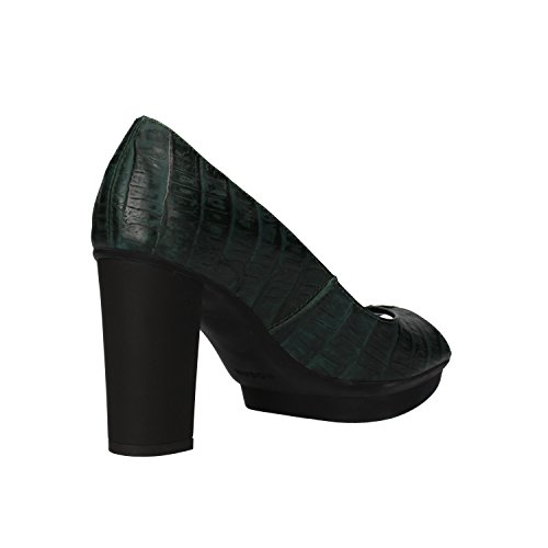 Hogan Zapatos de Salón Mujer 36,5 EU Verde Cuero AF922