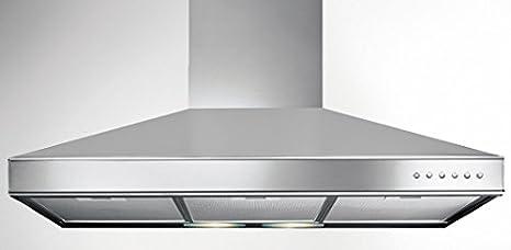Cappa Cucina Aspirante Parete 60cm Acciaio K2080087 Serie ...