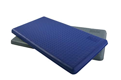 SKYDEX Technologies Boat Deck Personal Helm Mat, 17.25 x 32.25 x 1.5-Inch, Blue