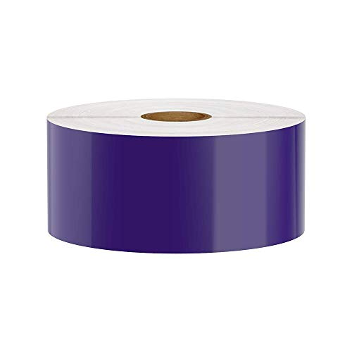 Premium Vinyl Label Tape for DuraLabel, LabelTac, SafetyPro and Others, Purple, 2