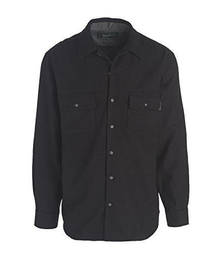 woolrich-mens-standard-bering-wool-plaid-shirt-solid-black-medium