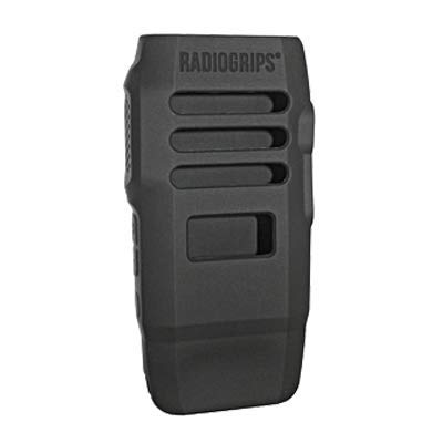 Silicone Case for Motorola Wave TLK100 Radio, RadioGrips by Klein Electronics, Black Protective Skin Cover