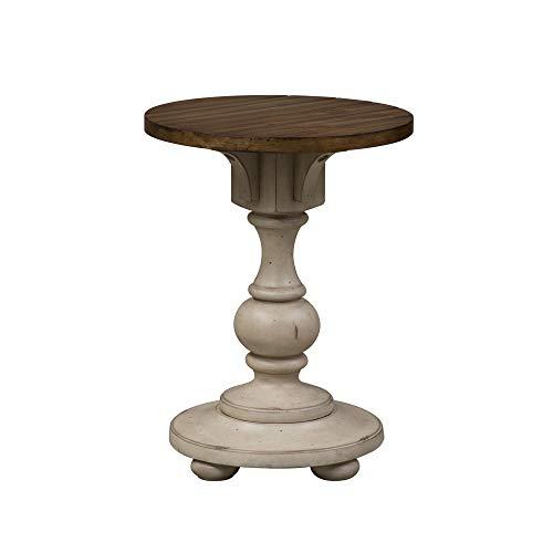 Amazon Com Liberty Furniture Industries 498 Ot1021 Morgan Creek Chair Side Table W18 X D18 X