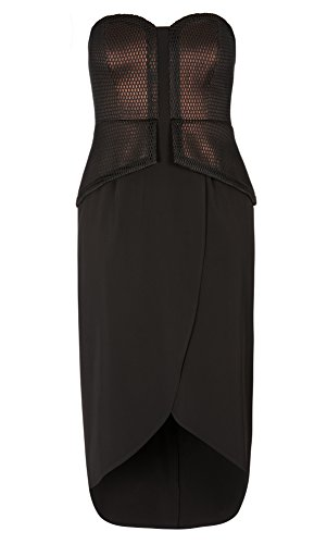 Designer Plus Size MAXI METALLIC GODDES - Black - 24 / XXL | City Chic