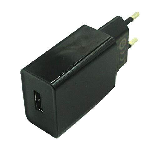 Movilux_ES Cargador rápido MDY-08-DF + Cable USB Tipo C, negro, Bulk Compatible con Xiaomi Mi Mix, S2, MAX, 2S, A1, A2, Mi5, Mi5s, Mi6, Mi8/Lite