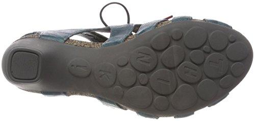 Think! Women's Traudi_282576 Closed Toe Sandals, Blau (Lagune/Kombi 79), 5 UK Blue (Lagune/Kombi 79 Lagune/Kombi 79)