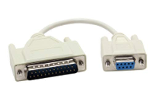 Serial Loopback Connector (B&B Electronics 232CAMS DB9 to DB25 Adapter Cable, Serial RS-232 Loopback Conn)