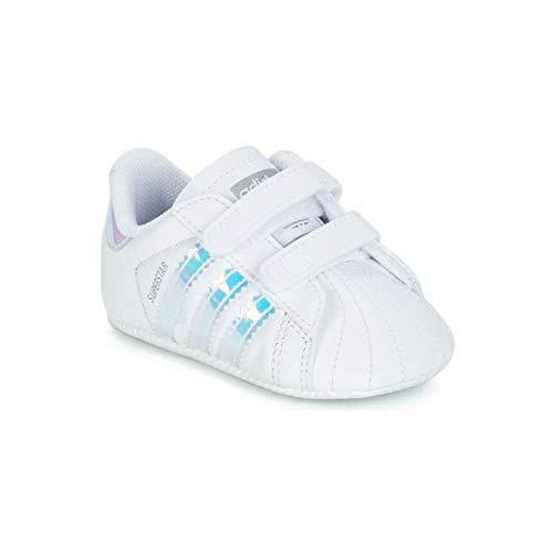 low priced d0e9b 6116e Gimnasia White ftwr Black Superstar Black White ftwr Blanco De Zapatillas  core Adidas Bebé Crib Unisex ...