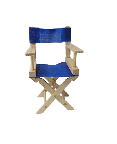 Adult Director Chair (Dollhouse Miniature Director's Chair Kit)