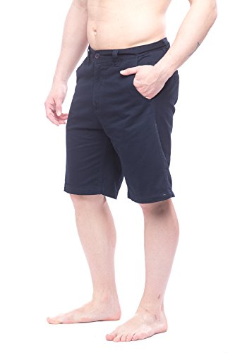 st-johns-bay-mens-flat-front-shorts-with-pockets-navy-38