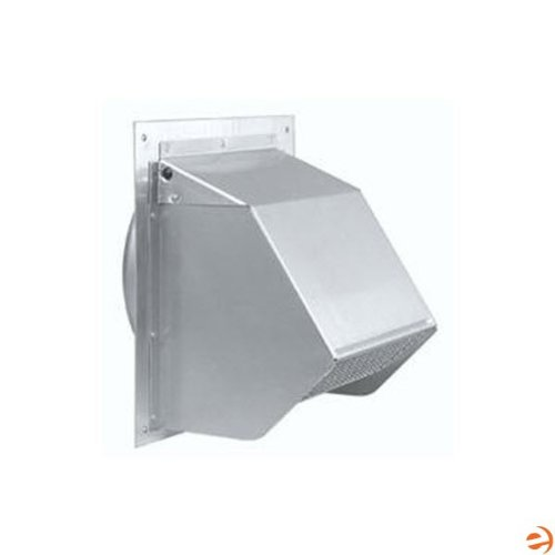 12 inch Round Duct Wall Cap with Backdraft Damper