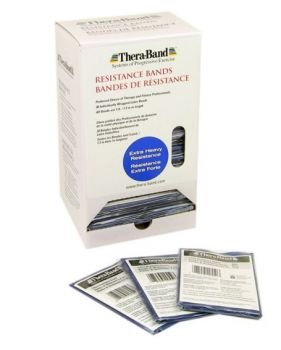 Thera-Band Resistance Band Dispenser Package Blue/Extra Heavy 5ft. by TheraBand