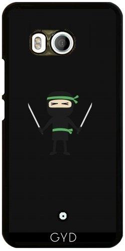 Funda para Htc U11 - Ninja Con Un Arma by ilovecotton