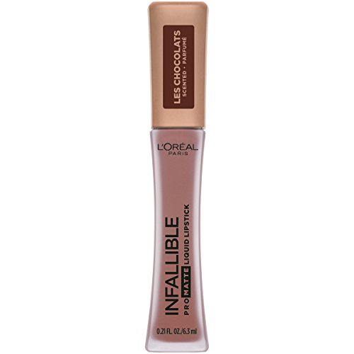 L'Oreal Paris Cosmetics Infallible Pro Matte Les Chocolats Scented Liquid Lipstick, Box O Chocolate, 0.21 Fluid Ounce