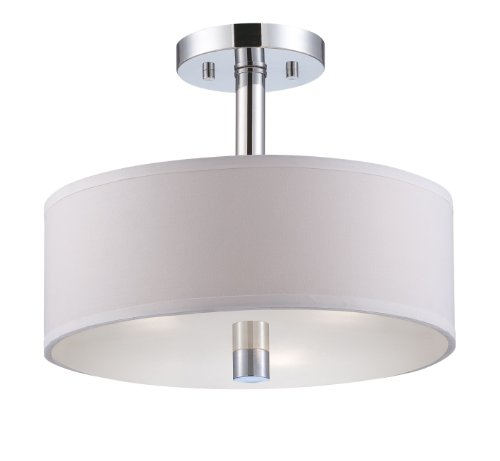 (Designers Fountain 84511-CH Cordova Ceiling Lights, Chrome)