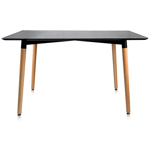 rectangular wood dining table - 8