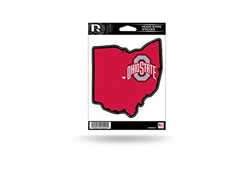Rico Industries NCAA Ohio State Buckeyes Home State Sticker