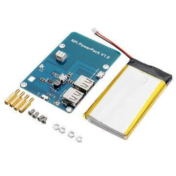 Amazon.com: RPI Powerpack V1.0 - Batería de expansión para ...