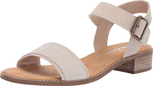 - Skechers Women's Petaluma-Quarter Strap Sandal, Natural, 5 M US