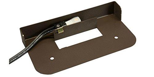Cheap Hardscape Supply Paver Wall Hardscape Light/White LED/Bronze Powder Coat