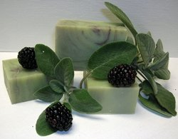 blackberry-sage-handmade-soap-luxurious-beautiful-4-ounce-bar-handmade-with-love-in-pa-amish-country