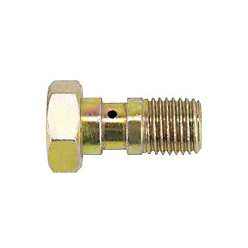 Goodridge 775-44P Steel 7//16 Inch x 24 Brake Banjo Bolt