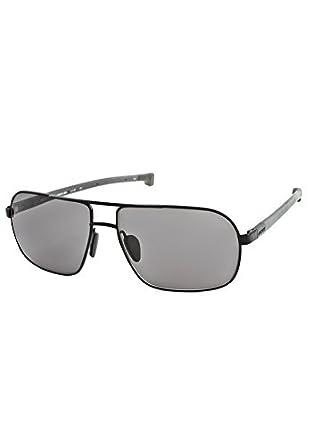 812adb0508c Lacoste Magnetic Tip Aviator Sunglasses - Black.  Amazon.co.uk  Clothing