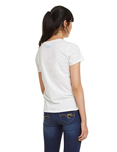 bianco Desigual Bianco Donna Maglietta 1000 Manchester nq4wYp4P