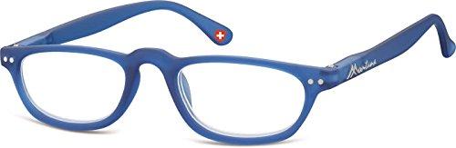 PRE-MONTEES LOUPE MR79A bleu avec etui souple Mixte - loupe:+1.0