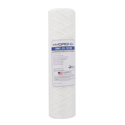 String Wound 100 Micron Under Sink Replacement Filter
