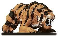 Dire Tiger - D & D Minis: Dire Tiger # 17 - Night Below