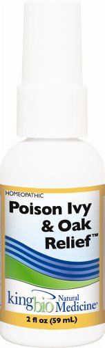 King Bio Homeopathic Poison Ivy/Oak Relief 2 Oz
