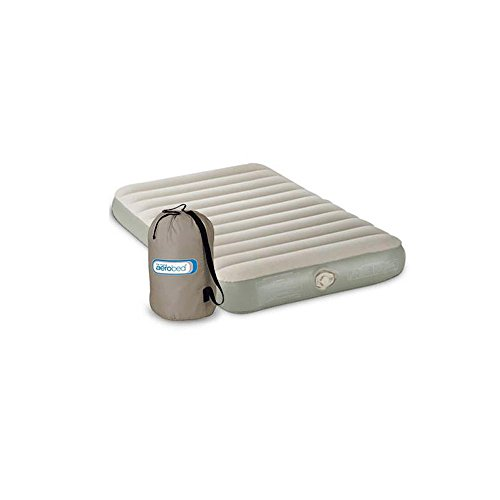 Aerobed Twin Size Inflatable Bed - Coleman Aerobed Single High Twin Airbed Mattress w/ Pump