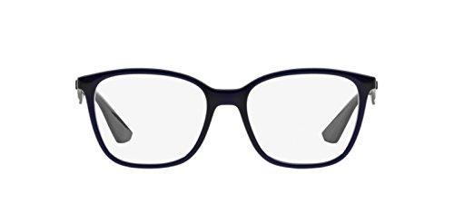 Ray Ban Optical Montures de lunettes RX7066 Pour Homme Shiny Black, 52mm  5584  Transparent ... b6194df3c806