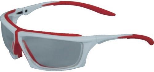 トラスコ中山 株 TRUSCO 二眼型セーフティグラス フレーム蛍光レッド TSG-1094F-RE
