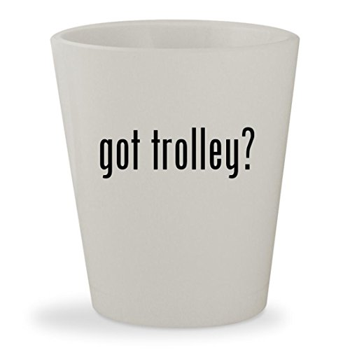 Powakaddy Travel Bag (got trolley? - White Ceramic 1.5oz Shot Glass)