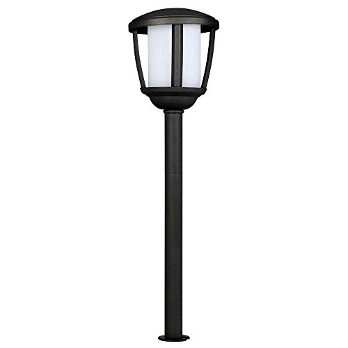 Hampton Bay Low-Voltage Black Outdoor Integrated LED Path Light (Hampton Bay Low Voltage Led Landscape Lighting)