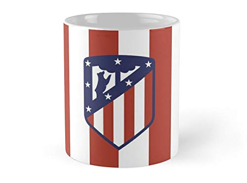 (SeaZTh-Crest - Atlético Madrid- 11oz Mug - Features wraparound prints - Made from Ceramic - Best gift for family friends)