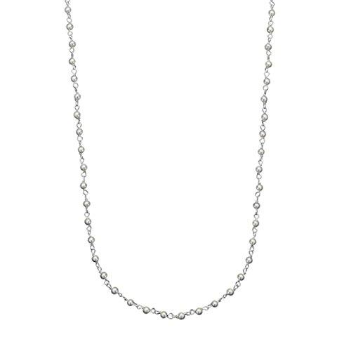 Canyon - Sautoir - Argent 925 - Perle - Perle d'imitation - 92 cm - C9934